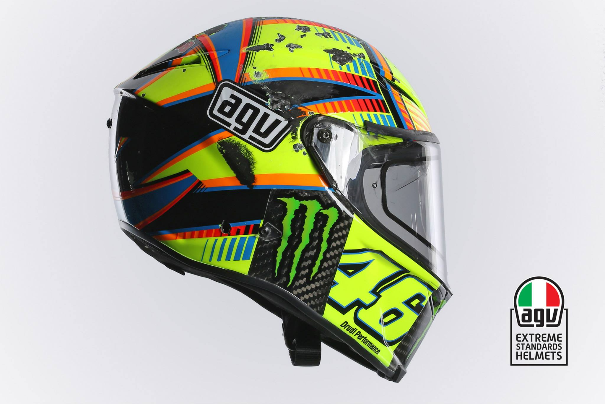 helm, agv, rossi