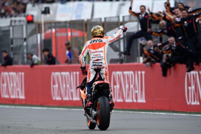 Marc Marquez cetak rekor baru dalam sejarah MotoGP (13 kemenangan dalam semusim)
