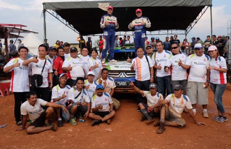 Pertamina Fastron Offroad Team raih juara Overall IXOR 2014