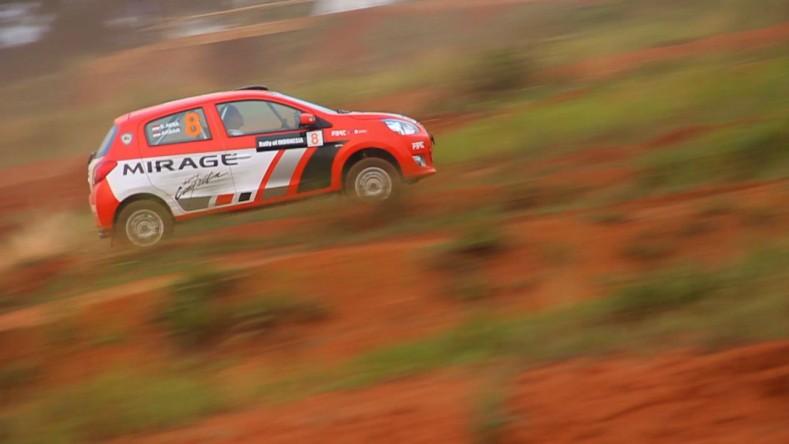 Latihan FBRT di lintasan Rally Serpong