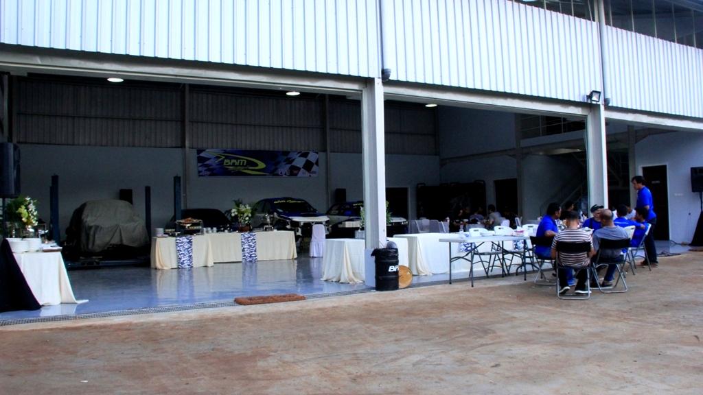 markas baru, bengkel, brm motorsport