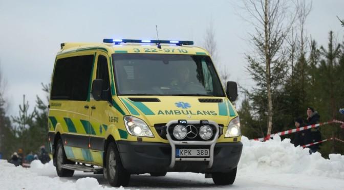 rally swedia, kecelakaan