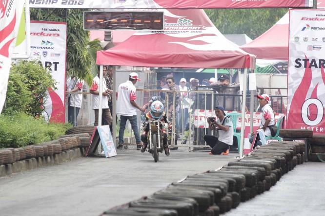 Pertamax Drag Bike Championship 2016 - Eza Chemong