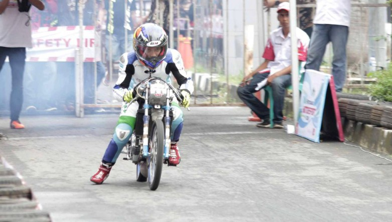 Pertamax Drag Bike Championship 2016 - Nico Sakau