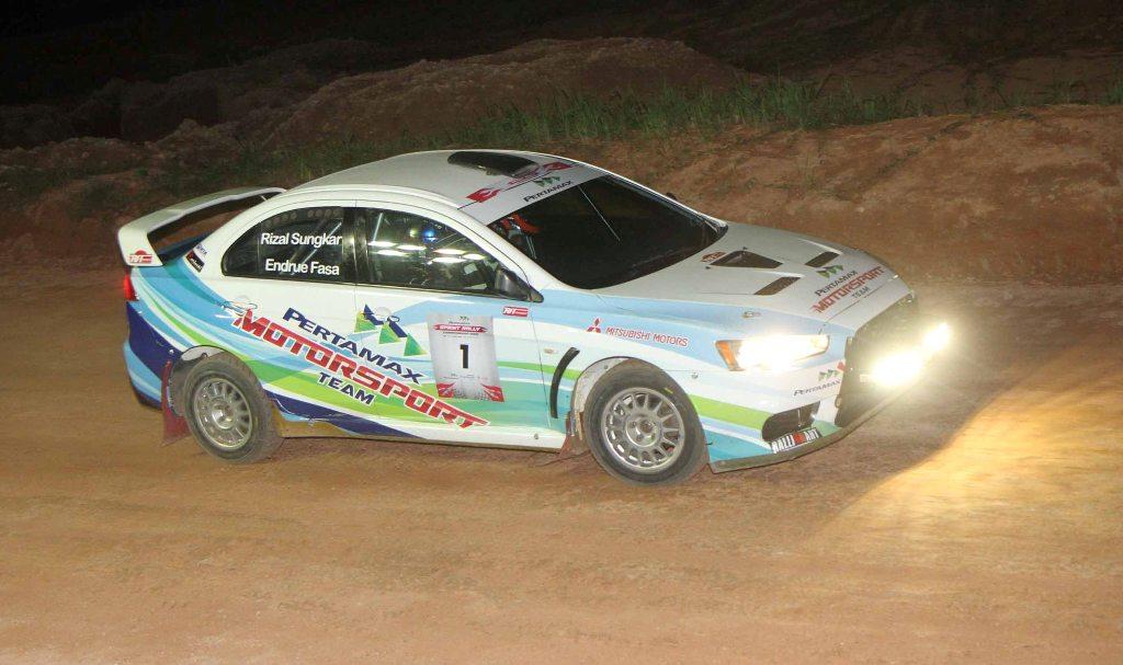 Pertamax Sprint Rally Team - Action2