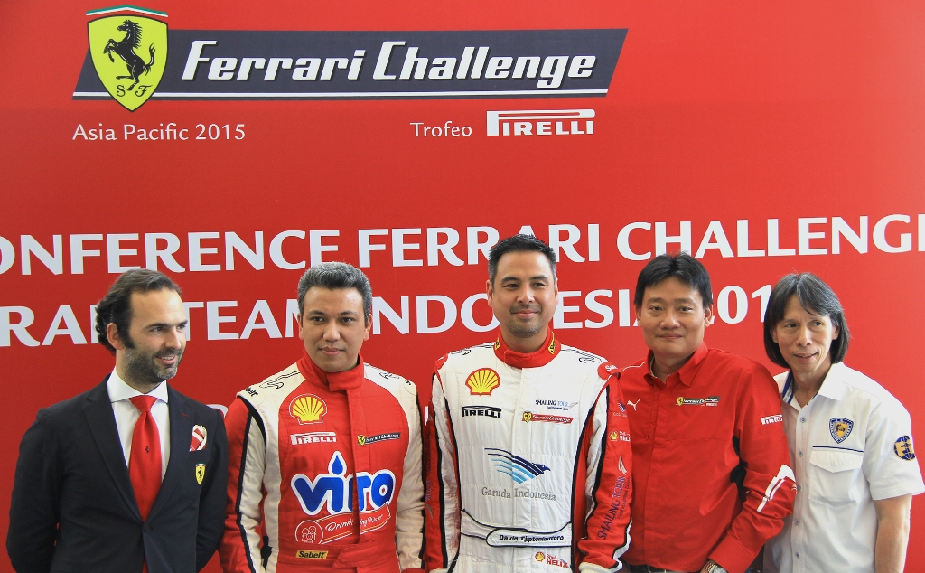 ferrari indonesia team